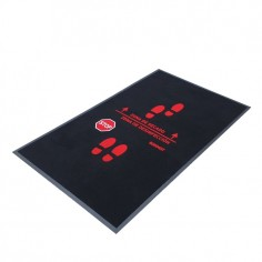 Disinfectant mat with...